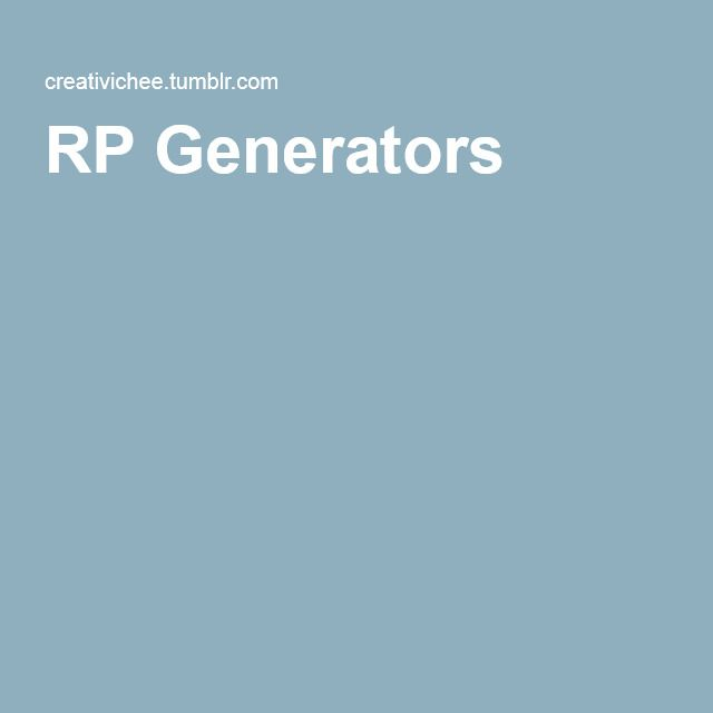 random rp prompt generator