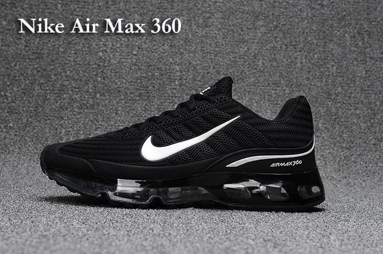 b67fc697bf3 Nike AIR MAX 360 KPU Women Men Black White 36-47 in 2019