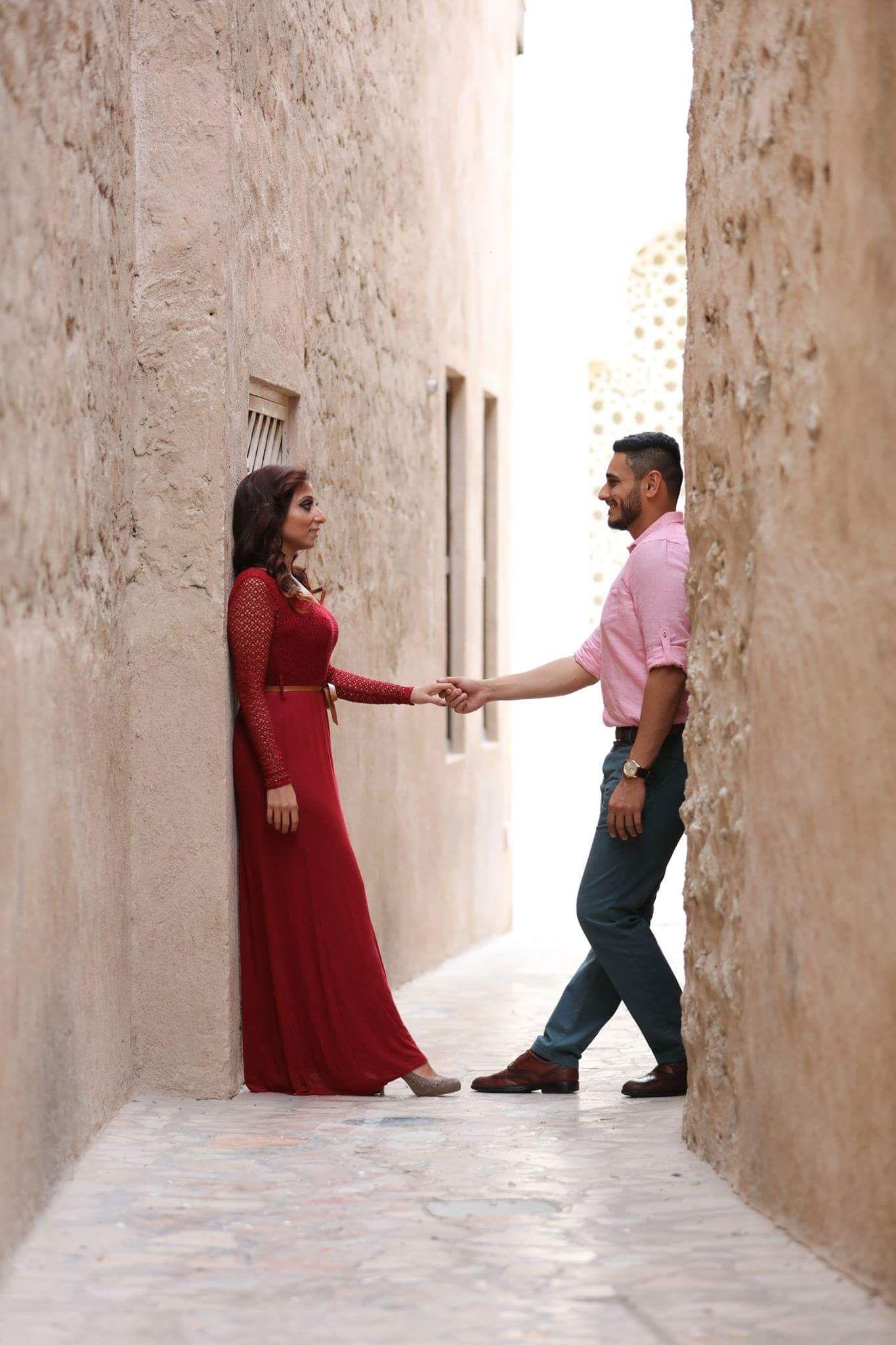 Bhavin u deenaus captivating prewedding shoot in bastakiya dubai