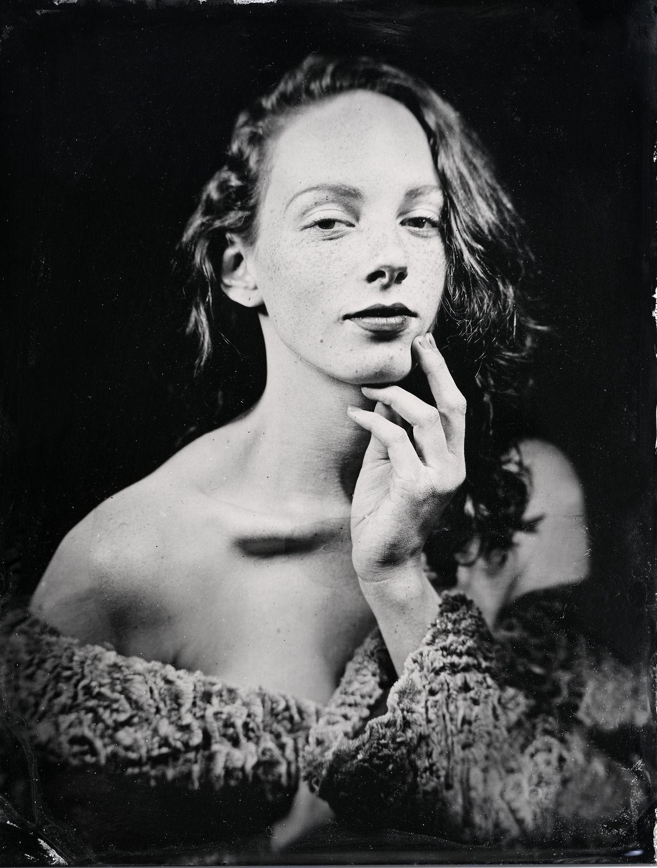 when were tintype photos made