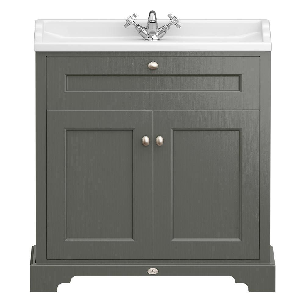 Old London Charcoal 800mm Freestanding Vanity Units Traditional Vanity Units Traditional Vanity Vanity Units