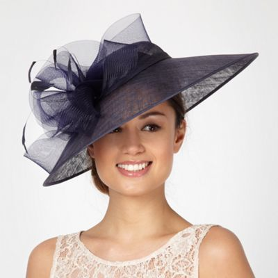 cd766be6 Hatbox Navy crinkle wave hat- at Debenhams.com | outfits for a ...