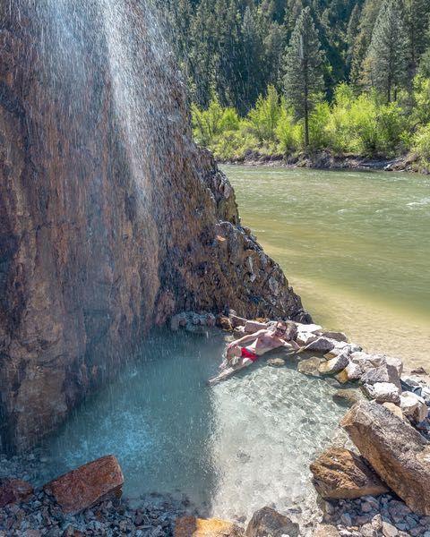 Soak In Pine Flats Hot Springs Hot Springs Secret Places Oh