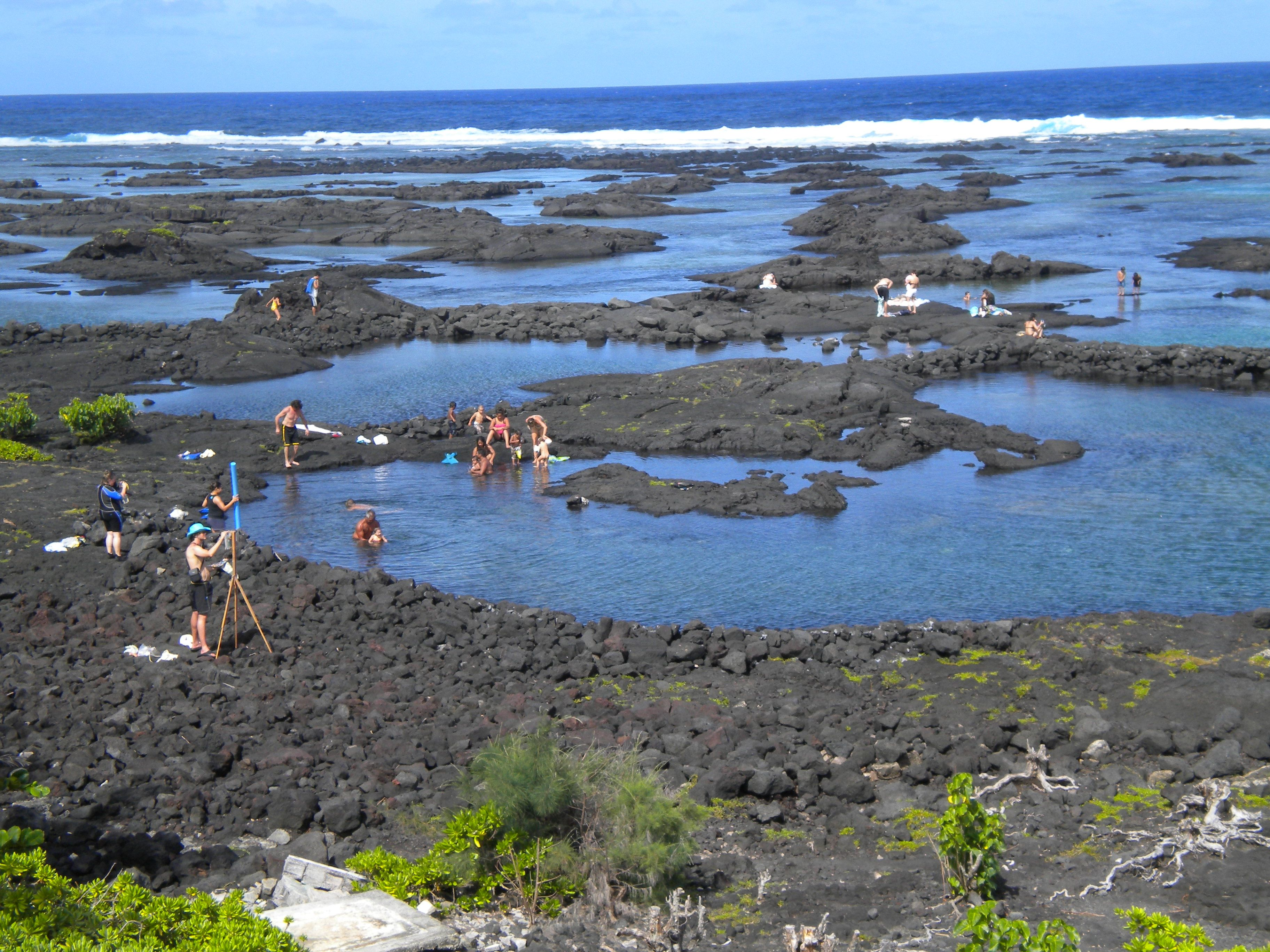 Kapoho tide pools big island hawaii one of the most for Hawaii tides for fishing
