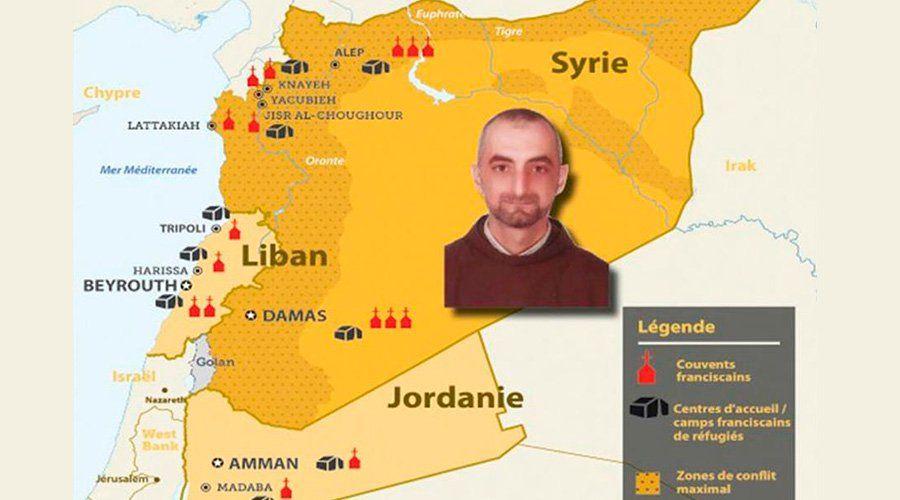 El fraile franciscano de origen iraquí, P. Diya Aziz, fue secuestrado en Yacubíe (noroeste de Siria), por terroristas islámicos posiblemente conectados a Jabhat al Nusra –filial de Al Qaeda–, denunció este lunes la Custodia de Tierra Santa.