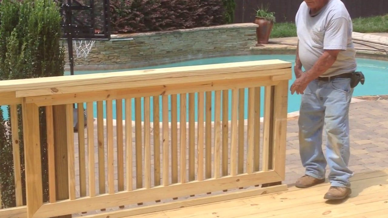 Wooden Porch Balusters