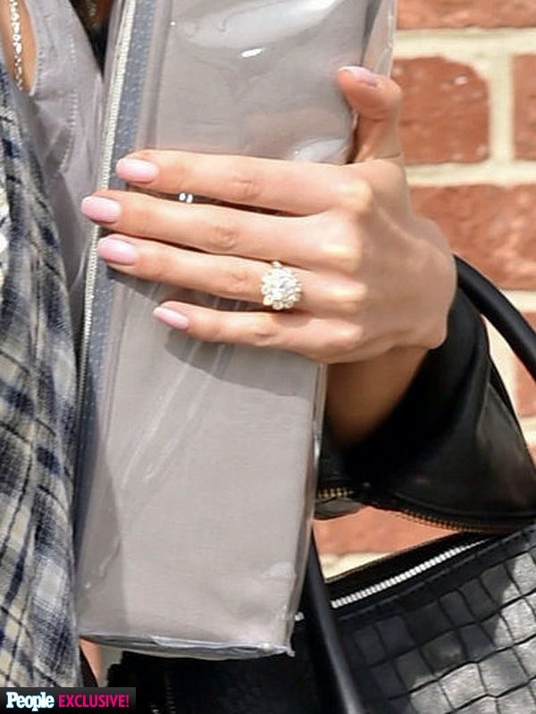 Exceptional Nikki Reed Engagement Ring