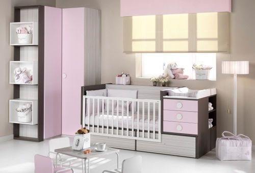 Habitación para bebé (niña) | Luciana | Pinterest | Habitación para ...