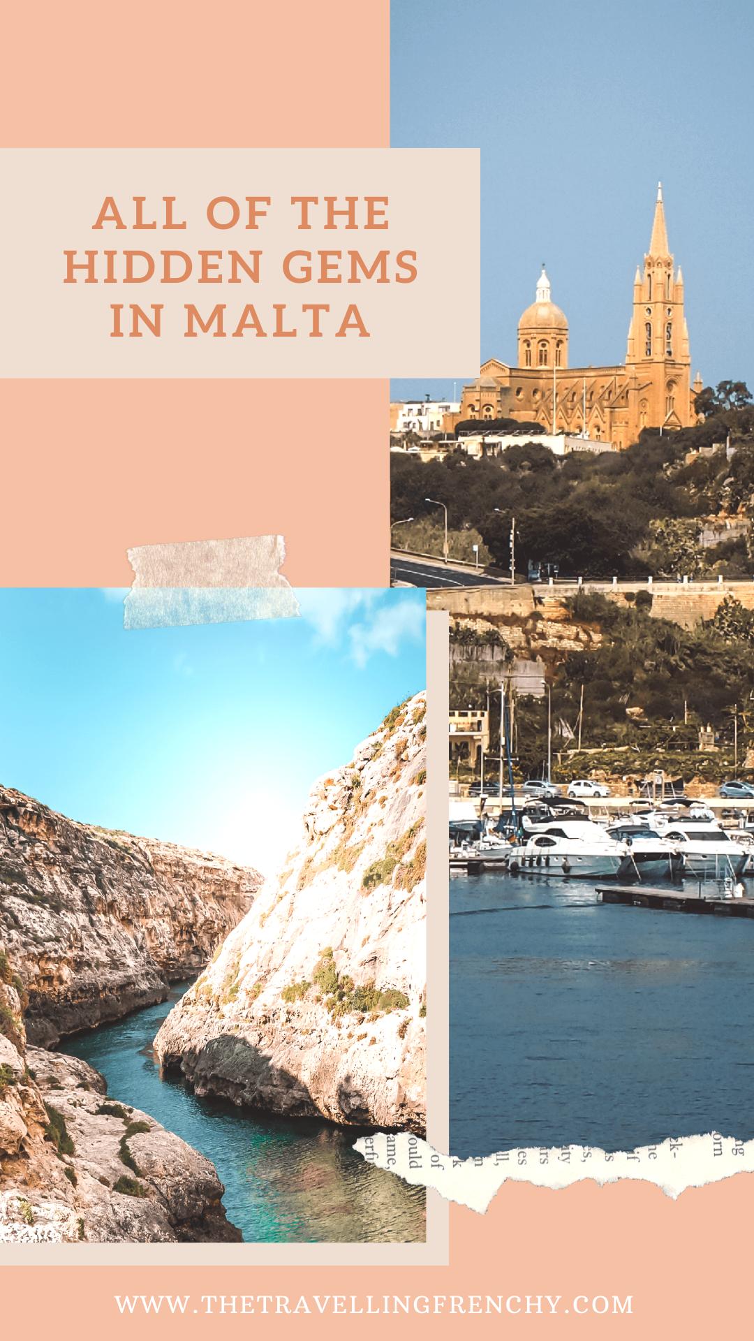 All of the hidden gems in Malta, best photo stops and secrets about Malta #Malta #Gozo #Travel #Travelblogger #Instagram #PhotoSpots