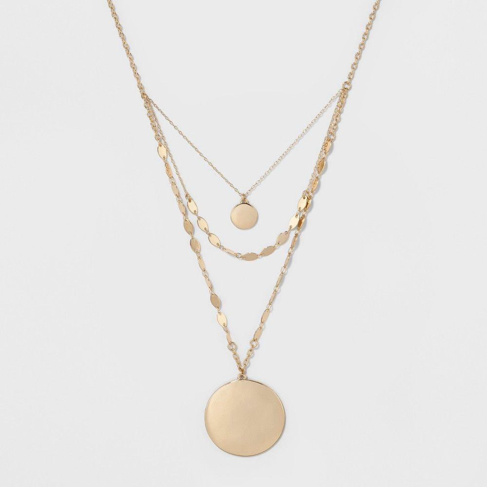 target coin necklace