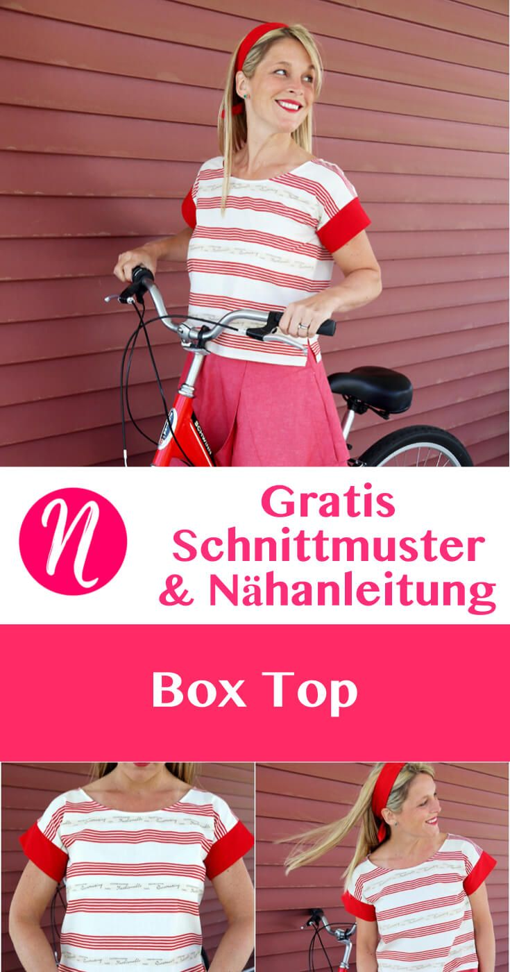 Einfaches Box Top | Sewing projects, Patterns and Craft