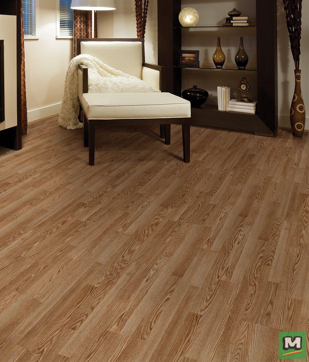 Tarkett® Occasions Creston Oak Laminate Flooring provides