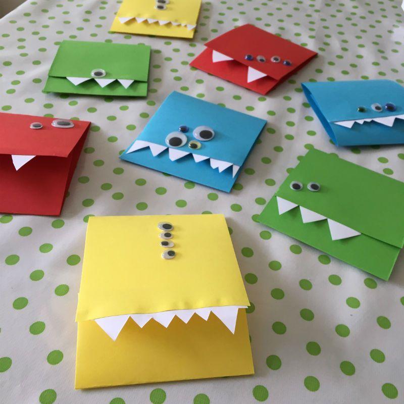 Favoriete Monster (lijke) uitnodigingen voor een kinderfeestje @VE62