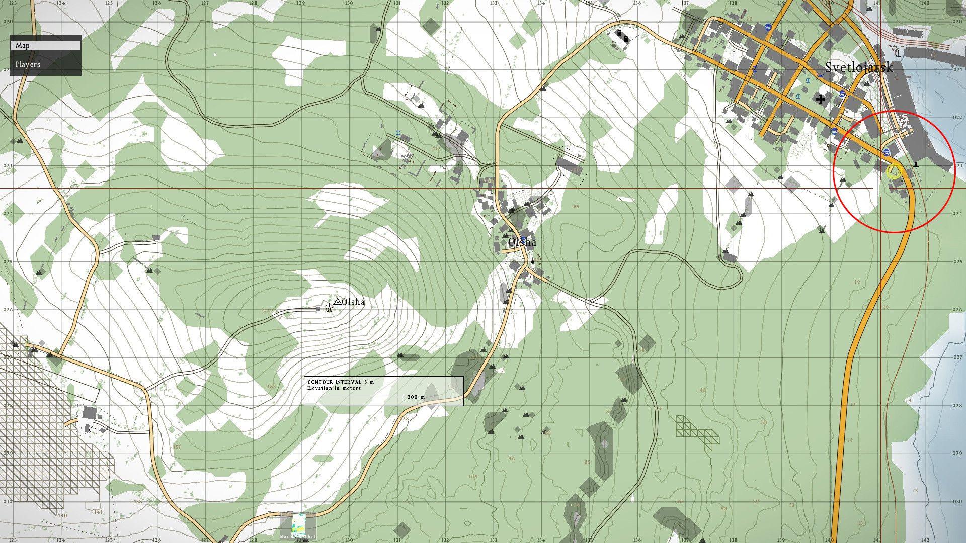 Dayz Standlone Map
