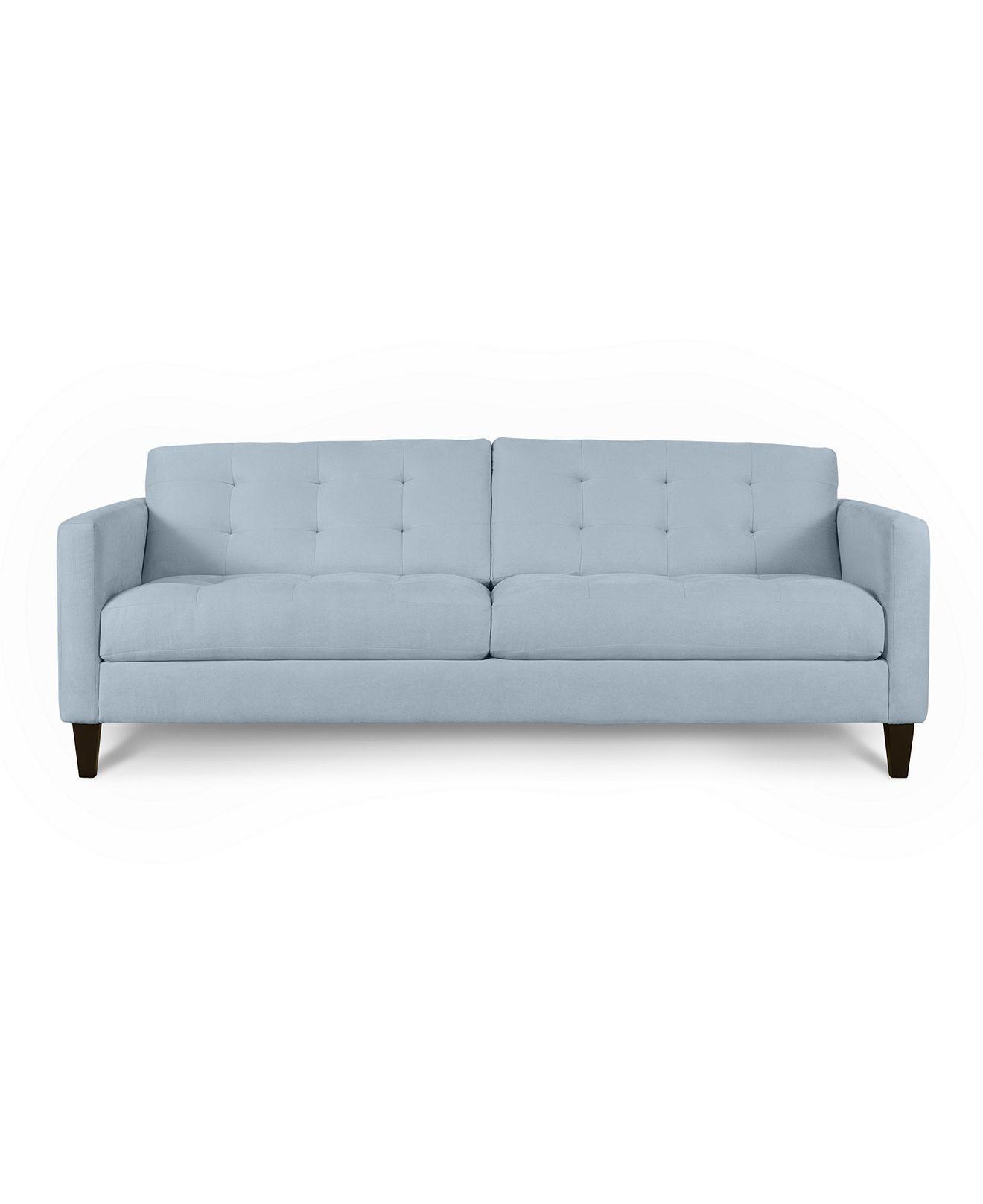 Tremendous Classic Light Blue Couch For Living Room Loft Via Macys Machost Co Dining Chair Design Ideas Machostcouk