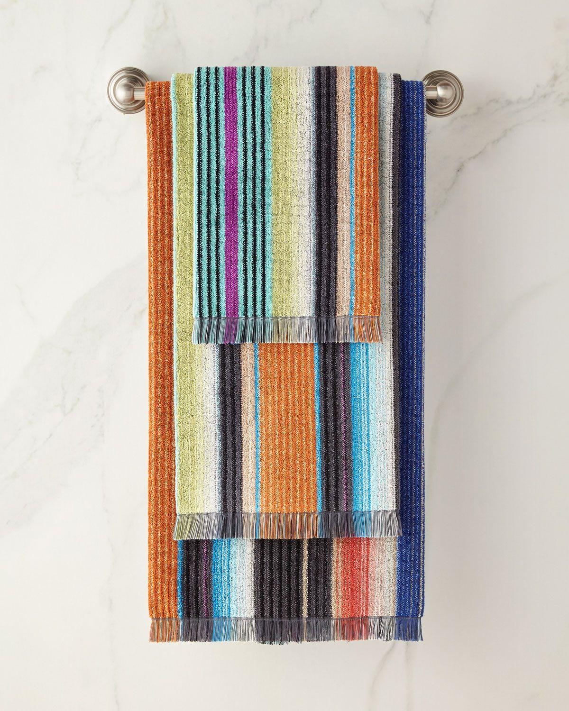 Missoni Home Viviette Bath Towel And Matching Items Towel Set