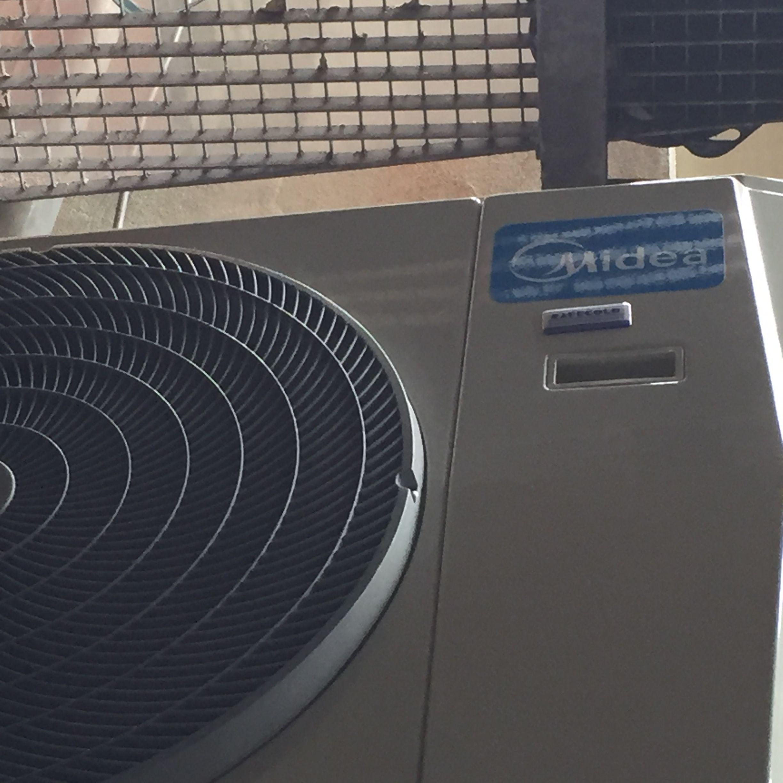 Pin op airconditioning van safecold beveiligingstechniek bv