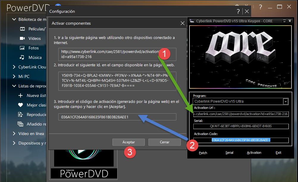 Power dvd 10 ключ скачать