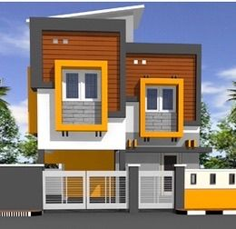 Pin By Churchill On Architecture Two Floors House Single Floor House Design House Elevation Modern Style House Plans