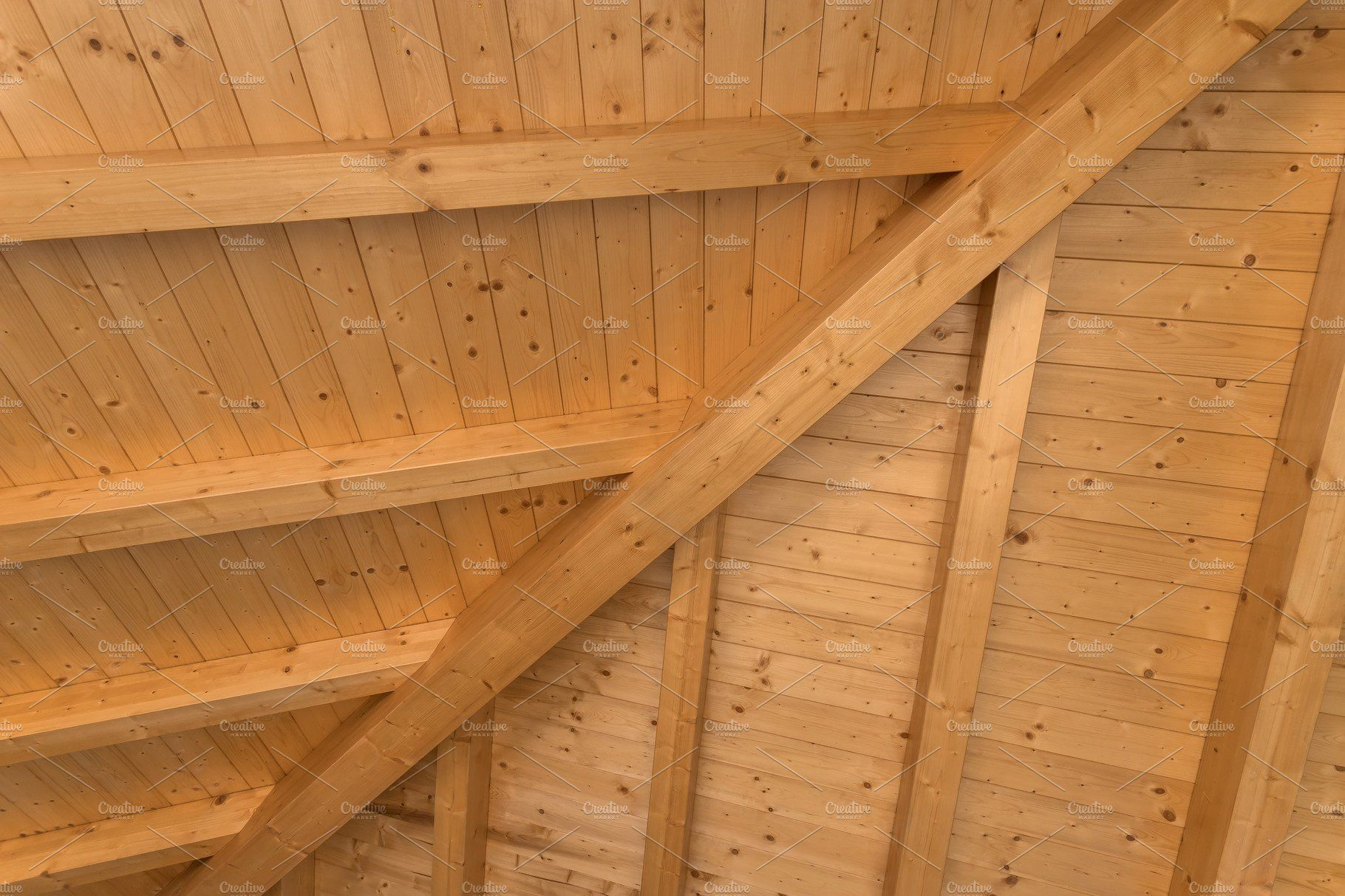Interior Wooden Roof By Kyna Studio On Creativemarket