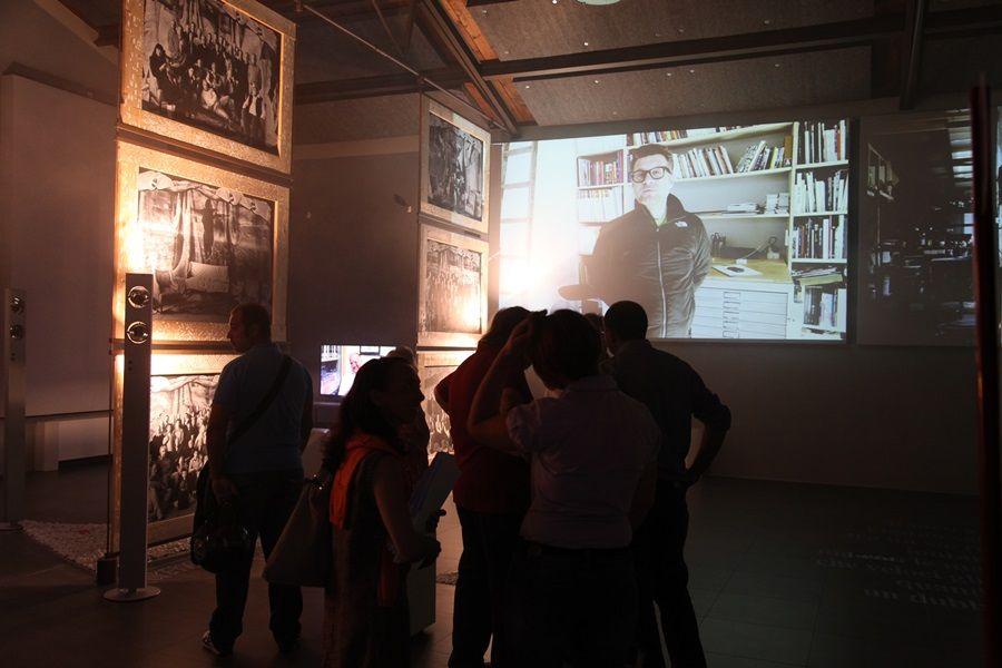 Foto e filmati per La Memoria della Pietra, al MuSA dal 07.09 al 06.10 2013 (foto Stefano De Franceschi - Cosmave)