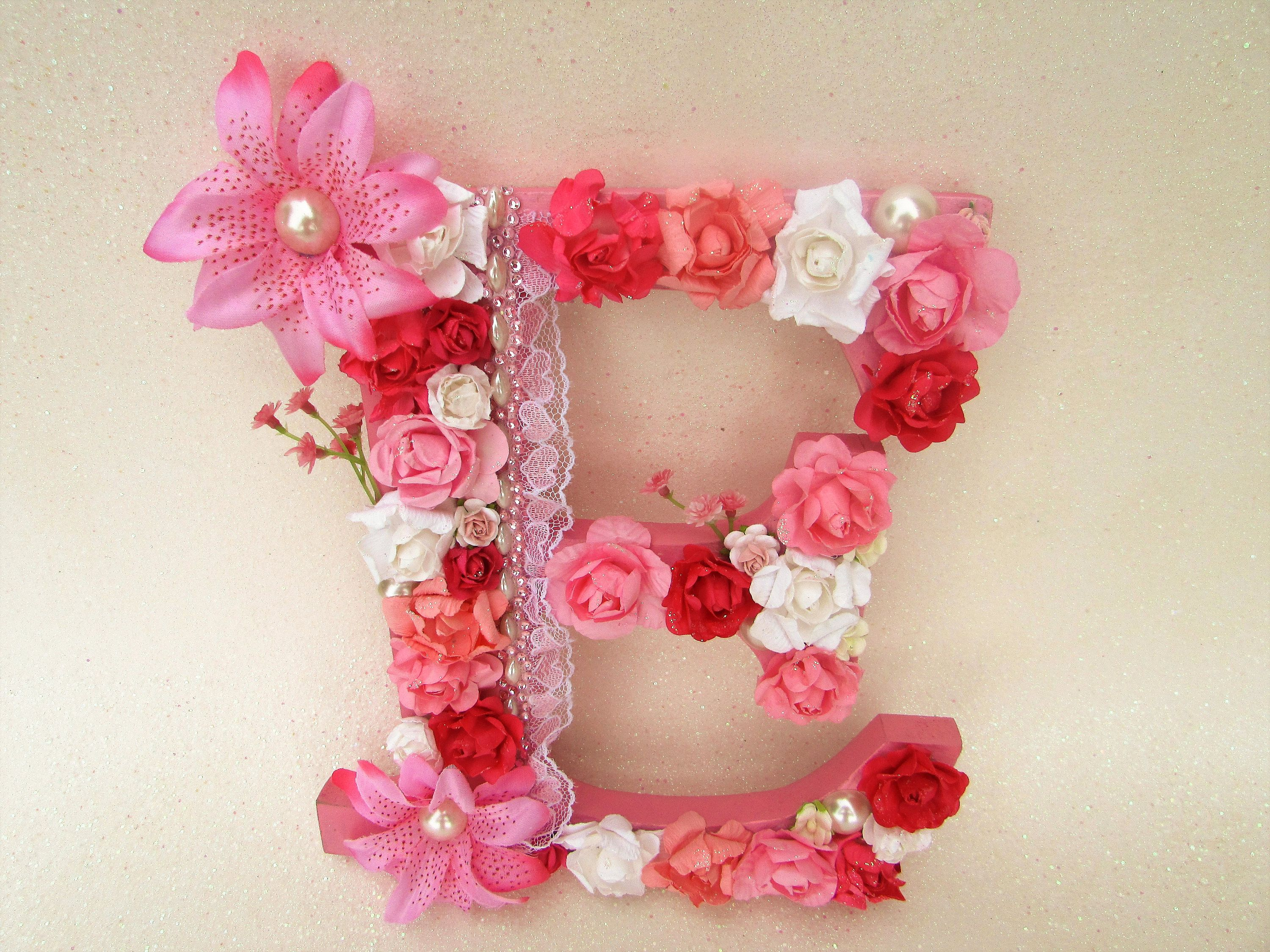 Custom name letter floral name letter blue letter t wedding custom name letter pink flower letter floral letter e custom letter e amipublicfo Image collections