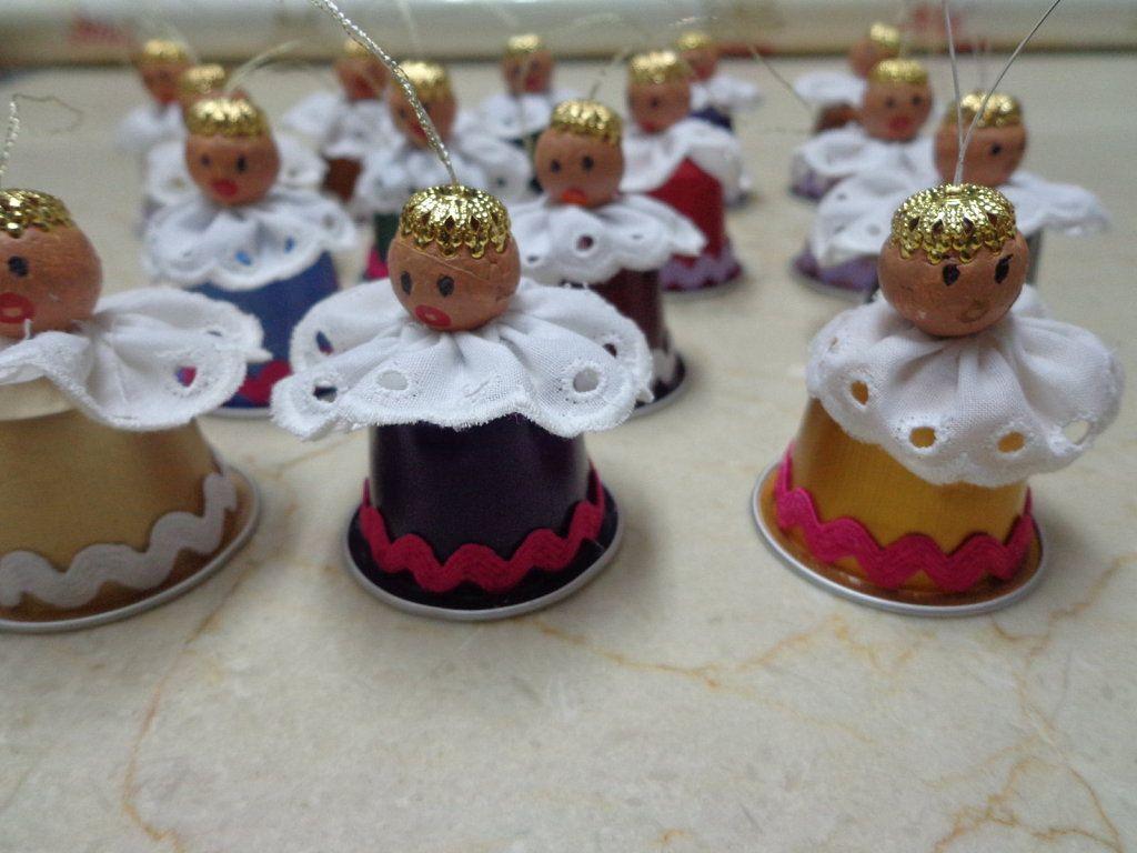 Adornos navidad con capsulas nespresso buscar con google - Que hacer con capsulas nespresso ...