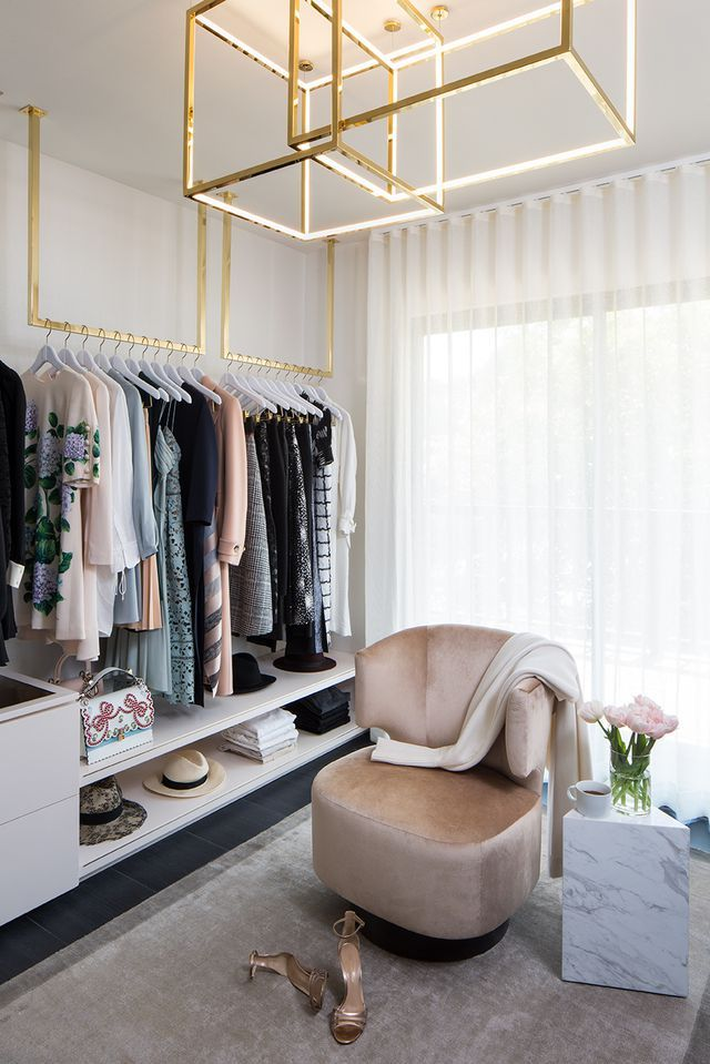 How Closet Designer Lisa Adams Dreams Up Celebrity-Worthy Spaces