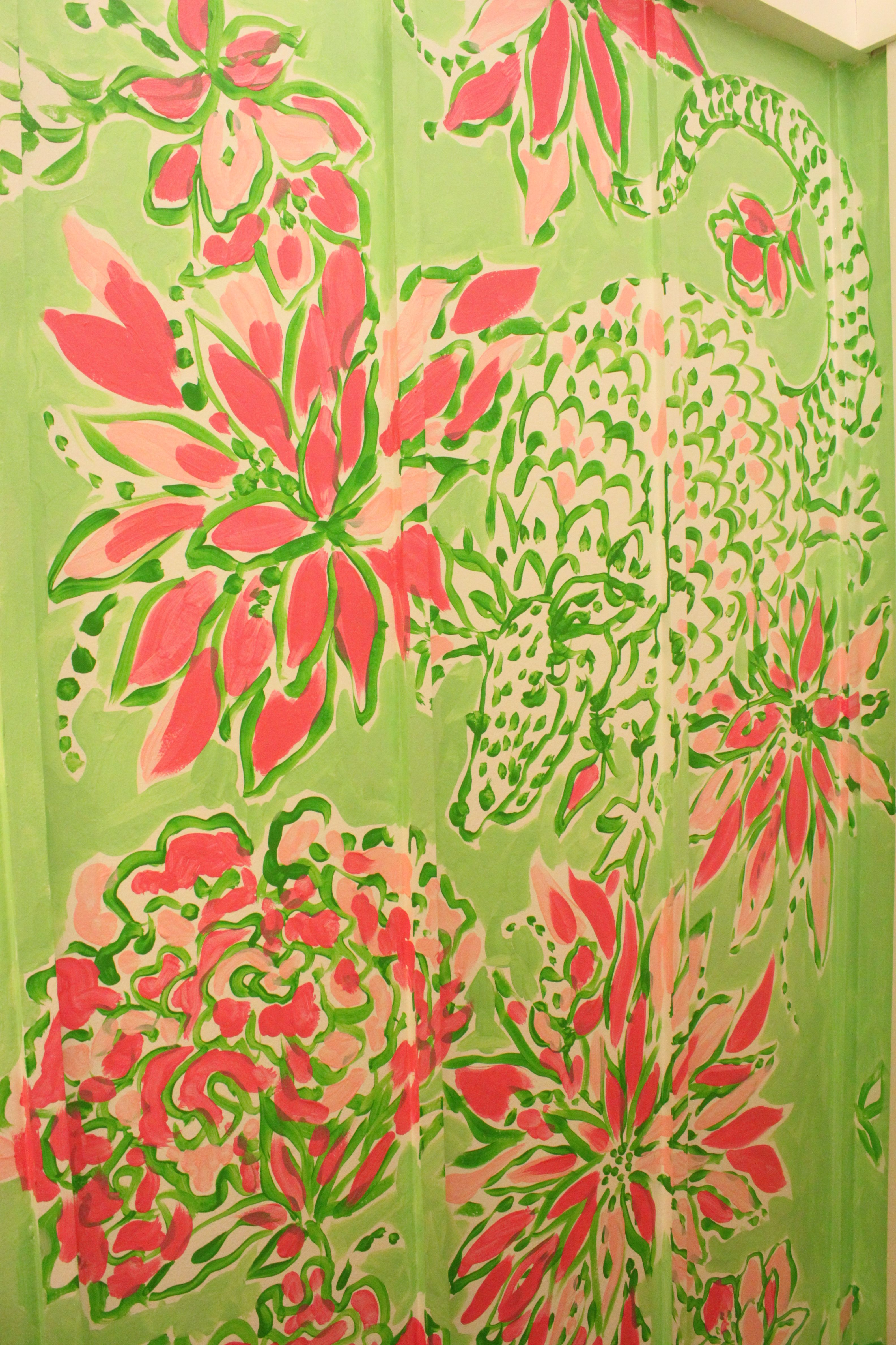 Lilly Pulitzer Retail Store: Southlake, TX Pink & Green Armadillo ...