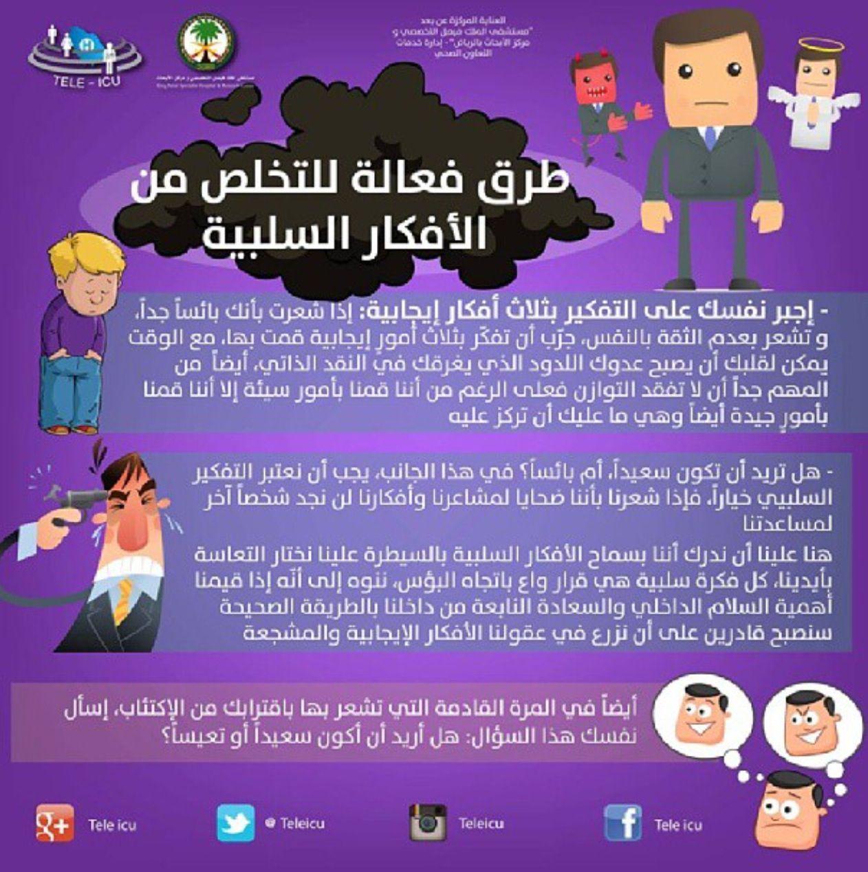 طرق فعالة للتخلص من الأفكار السلبية Feeling Positive Psychology Facts Excellence Quotes