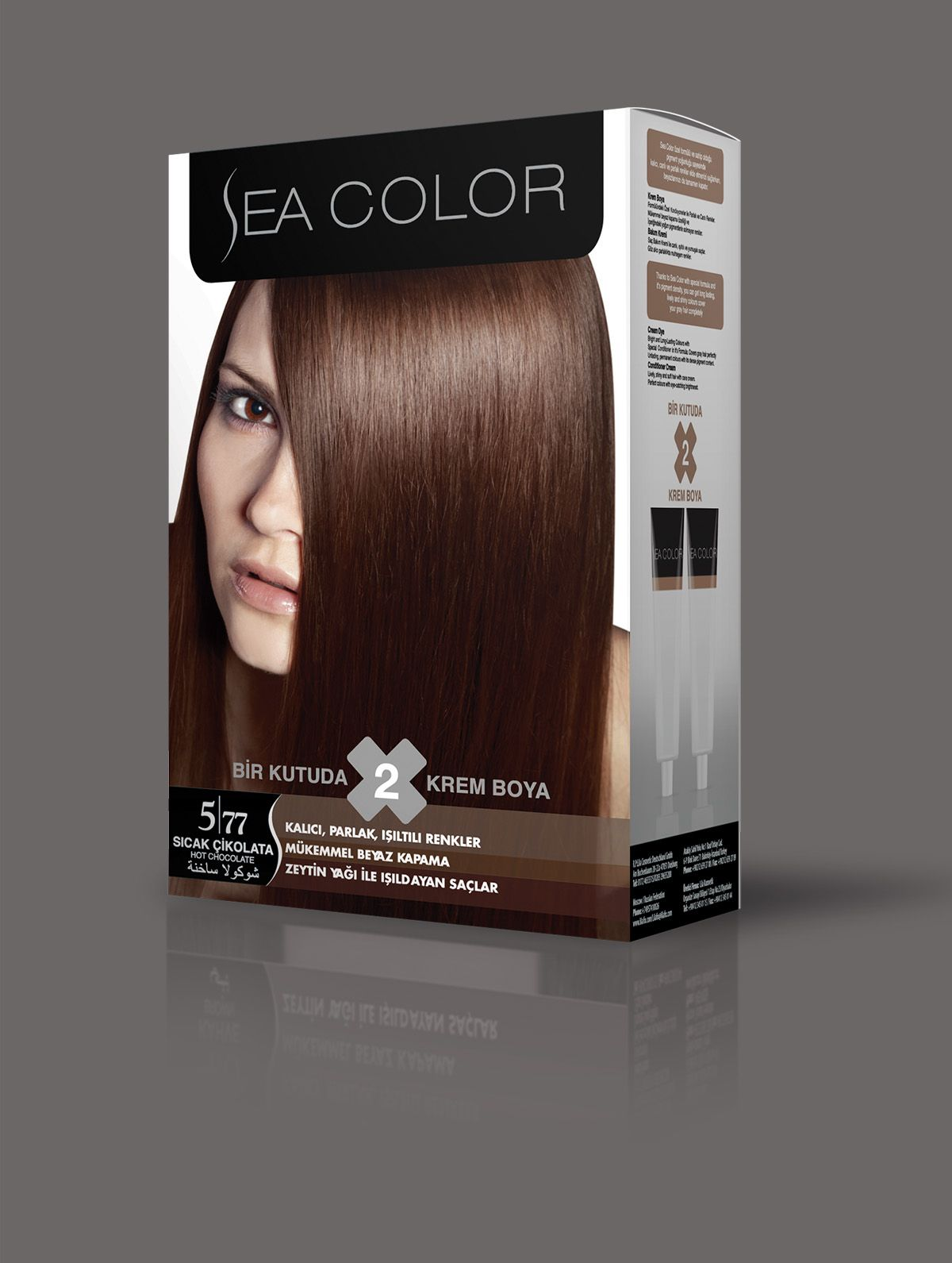 Sea Color Sac Boyasi 5 77 Sicak Cikolata 2020 Sac Sac Boyasi