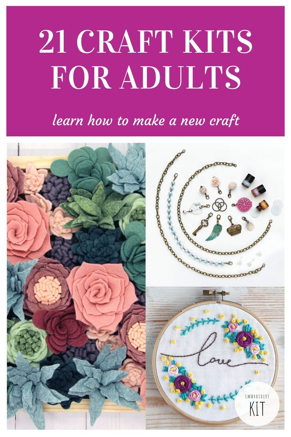 21 Of The Best Craft Kits For Adults In 2020 Teenager Crafts Craft Kits Diy Crafts For Adults