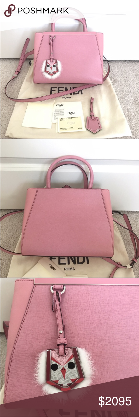 Authentic Fendi 2jours petite tote Brand new with tag. Comes with original  dustbag, extra a9e88c1d88