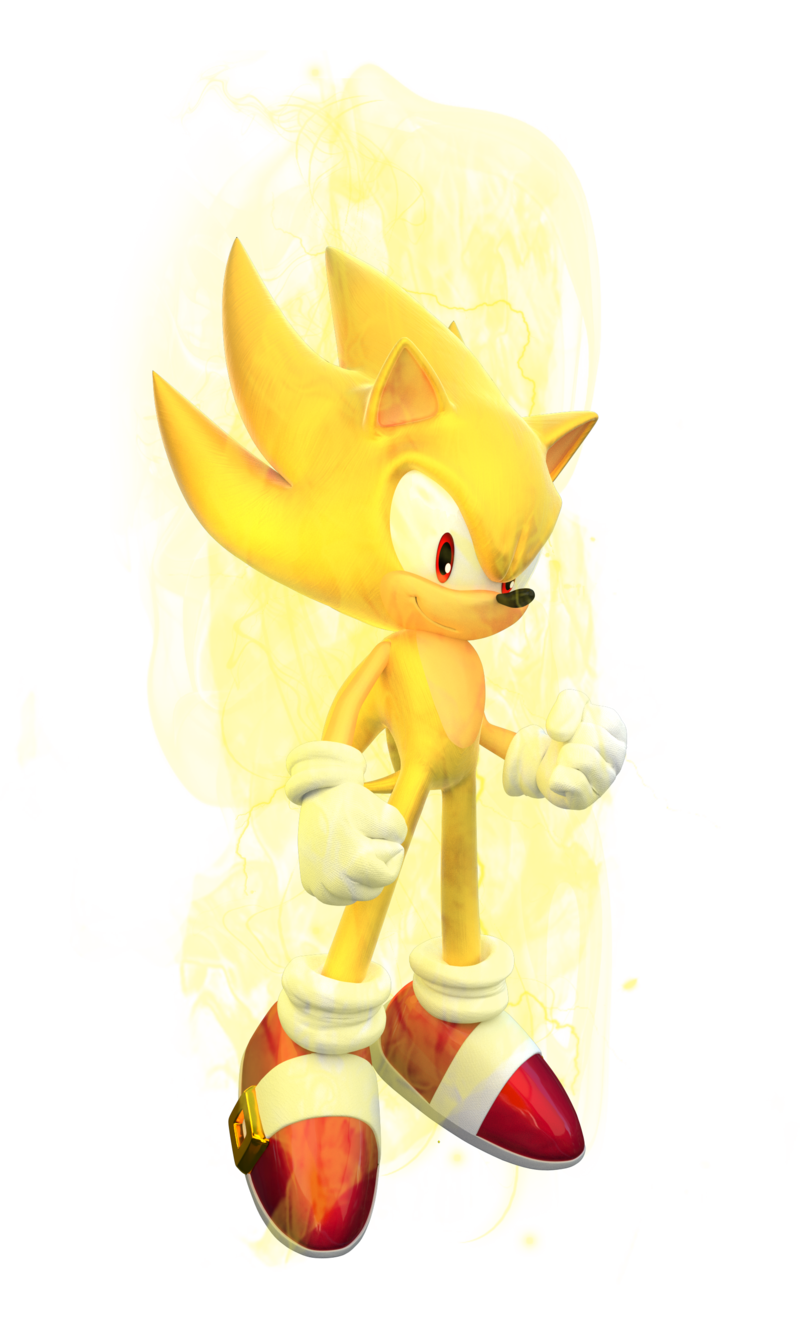Sonic the hedgehog super sonic