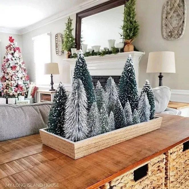 116+ wonderful farmhouse living room decor design ideas 34 | androidtips.me #christmasdecorideas
