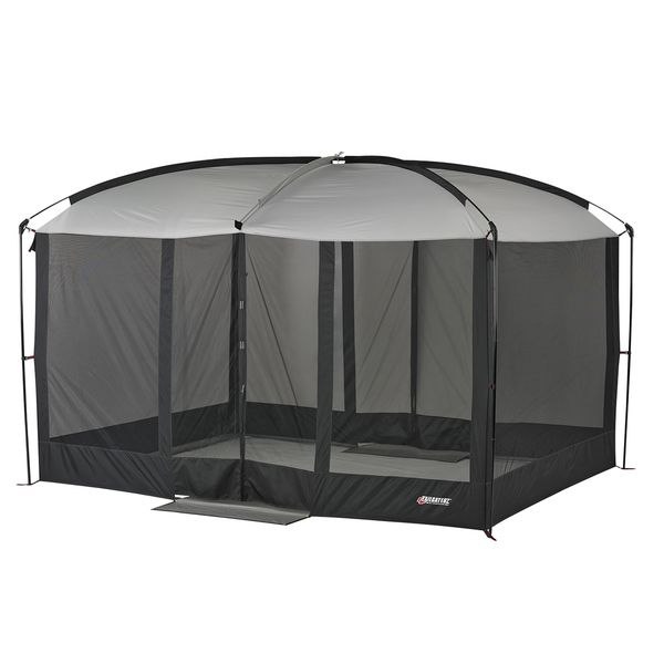 Place This Sizable Screen House Over Your Backyard Picnic Table For A  Comfortable Place To Eat Away From The Rain And Mosquitoes. The Front And  Bacu2026