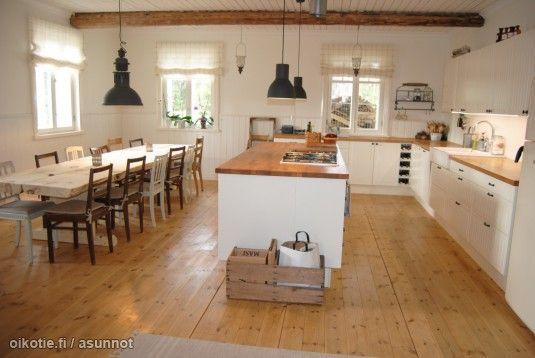Myynnissä - Omakotitalo, Ahmoo, Karkkila: #puutalo #oikotieasunnot #keittiö