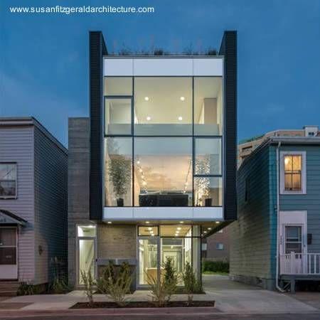 Fachada vista desde el frente arquitectura dise o pinterest el frente fachadas y locales - Spa tres casas ...