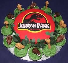 Jurassic Park Cakes With Images Birthday Party At Park