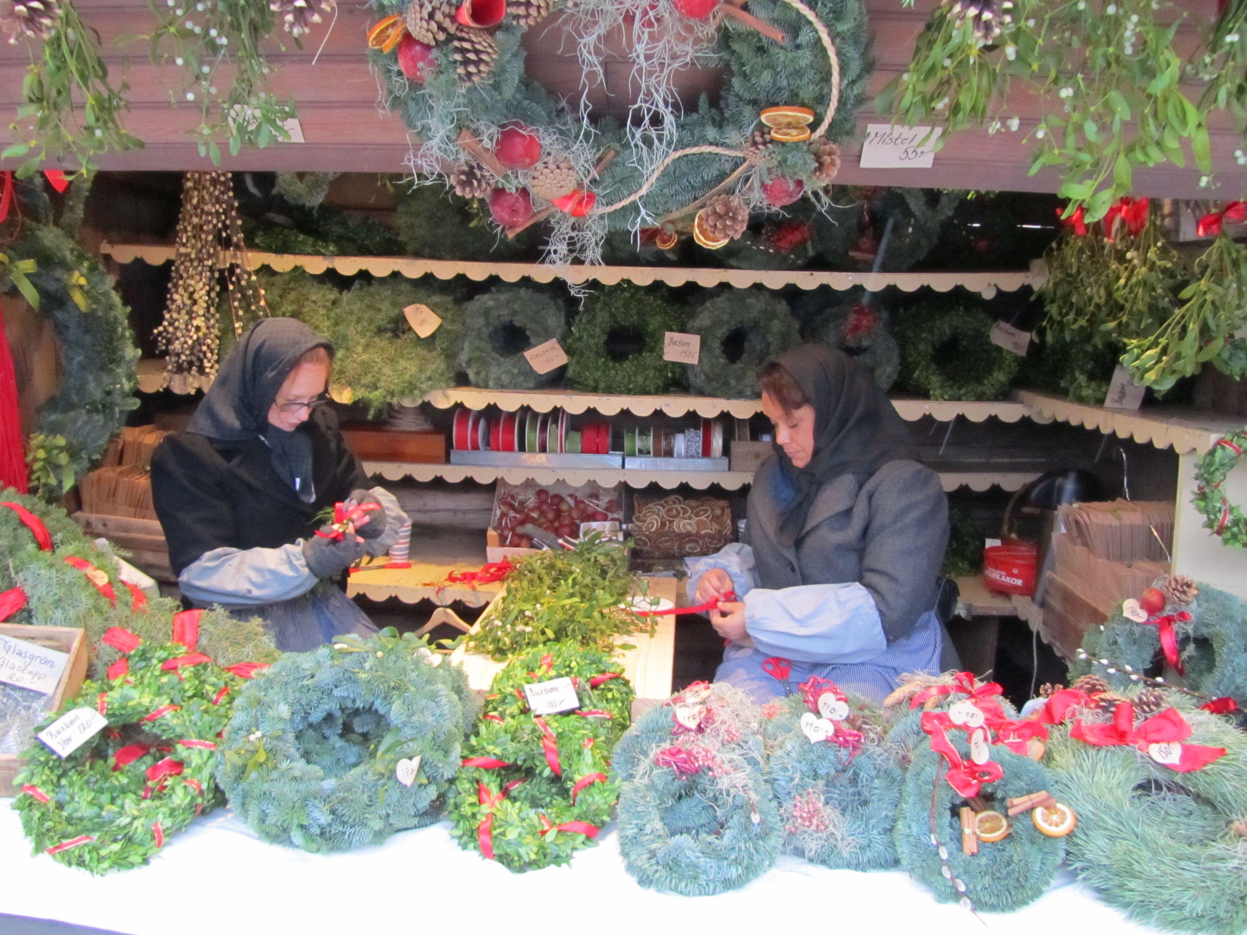Christmas Market Stockholm, Sweden