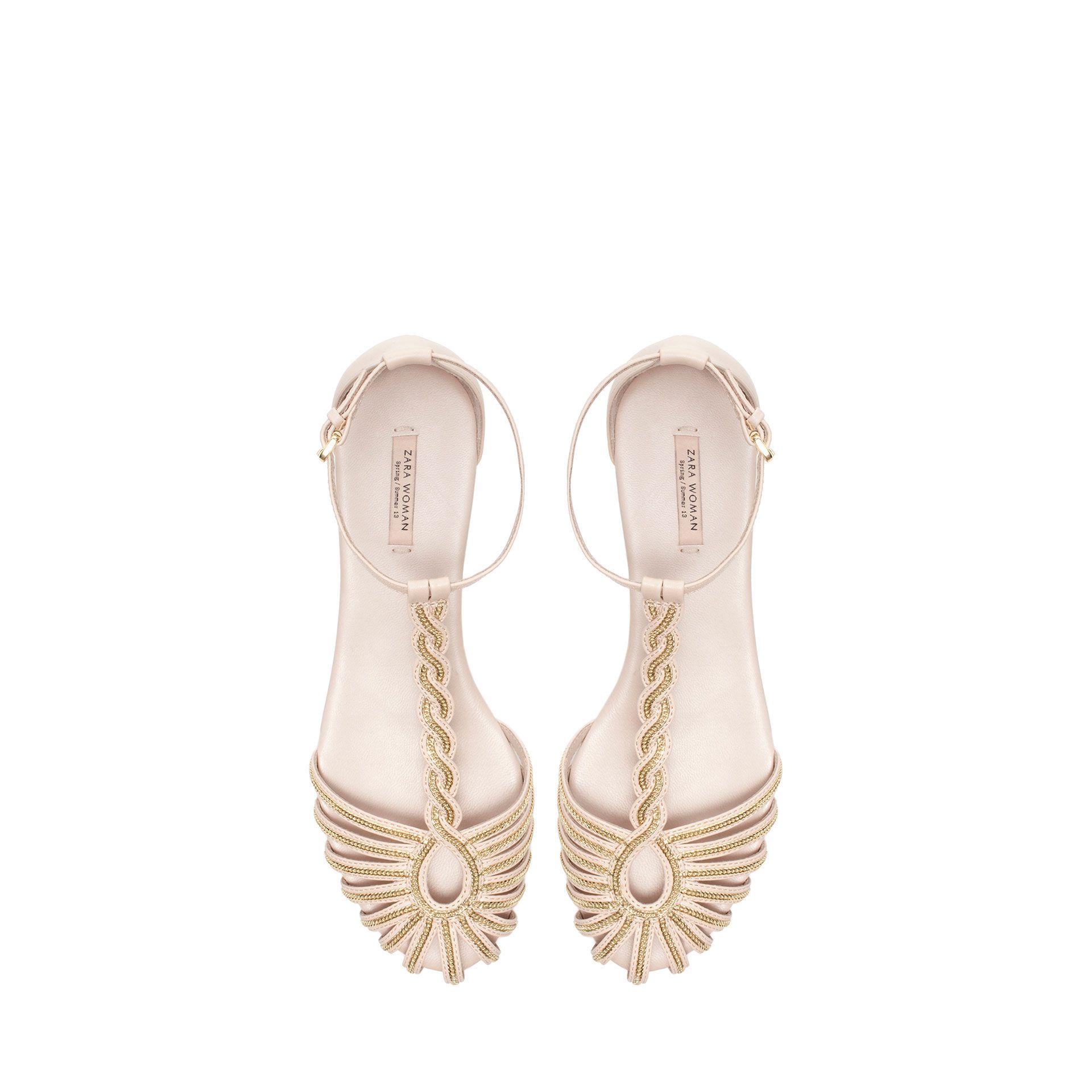 926c007824 zara sandal
