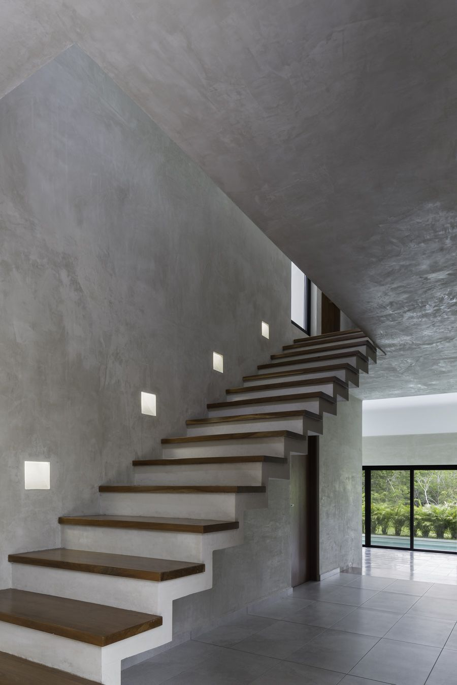 cemento escaleras voladasescaleras - Escaleras Voladas
