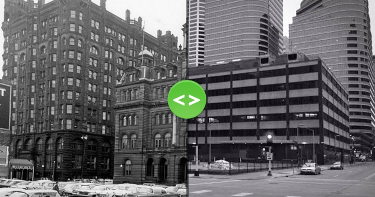 Streetscapes Take A Look At Minneapolis Past And Present One