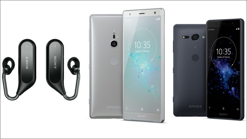 Sony S Xperia Xz2 And Xz2 Compact Smartphones Launched Techno Now Smartphone Sony Mobile World Congress