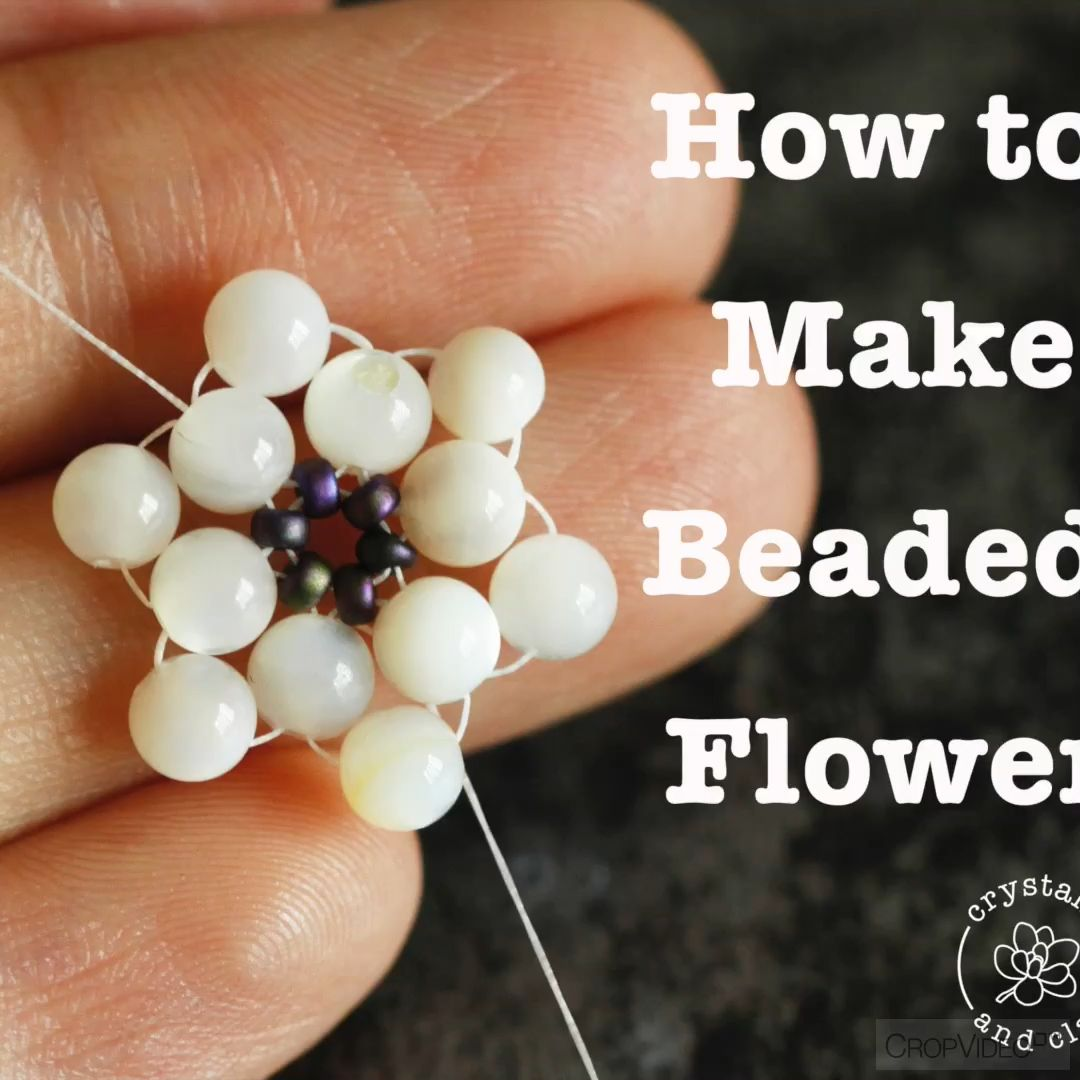 Photo of How to make Anthropologie style beaded earrings
