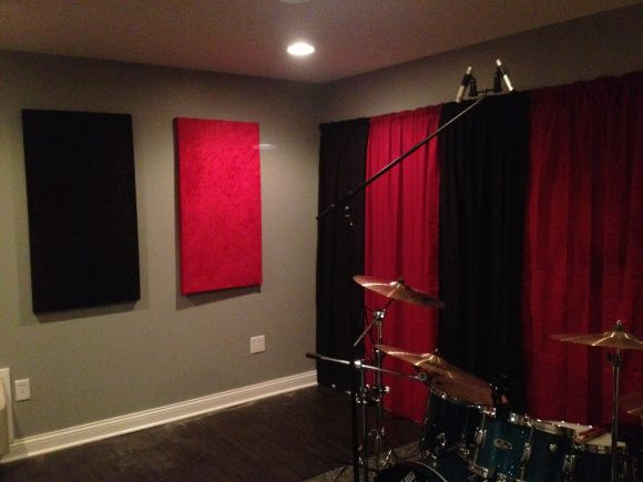 Gentil #HowTo Make Inexpensive Soundproof Panels. #DIY #Music Studio