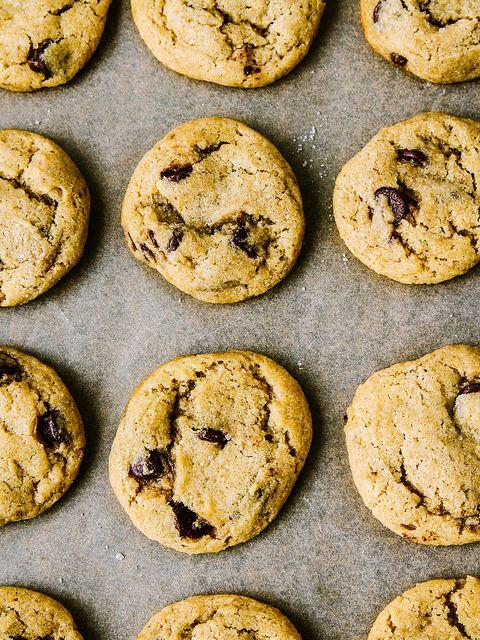 Sea salt chocolate chip cookies by Ashlae | oh, ladycakes, via Flickr