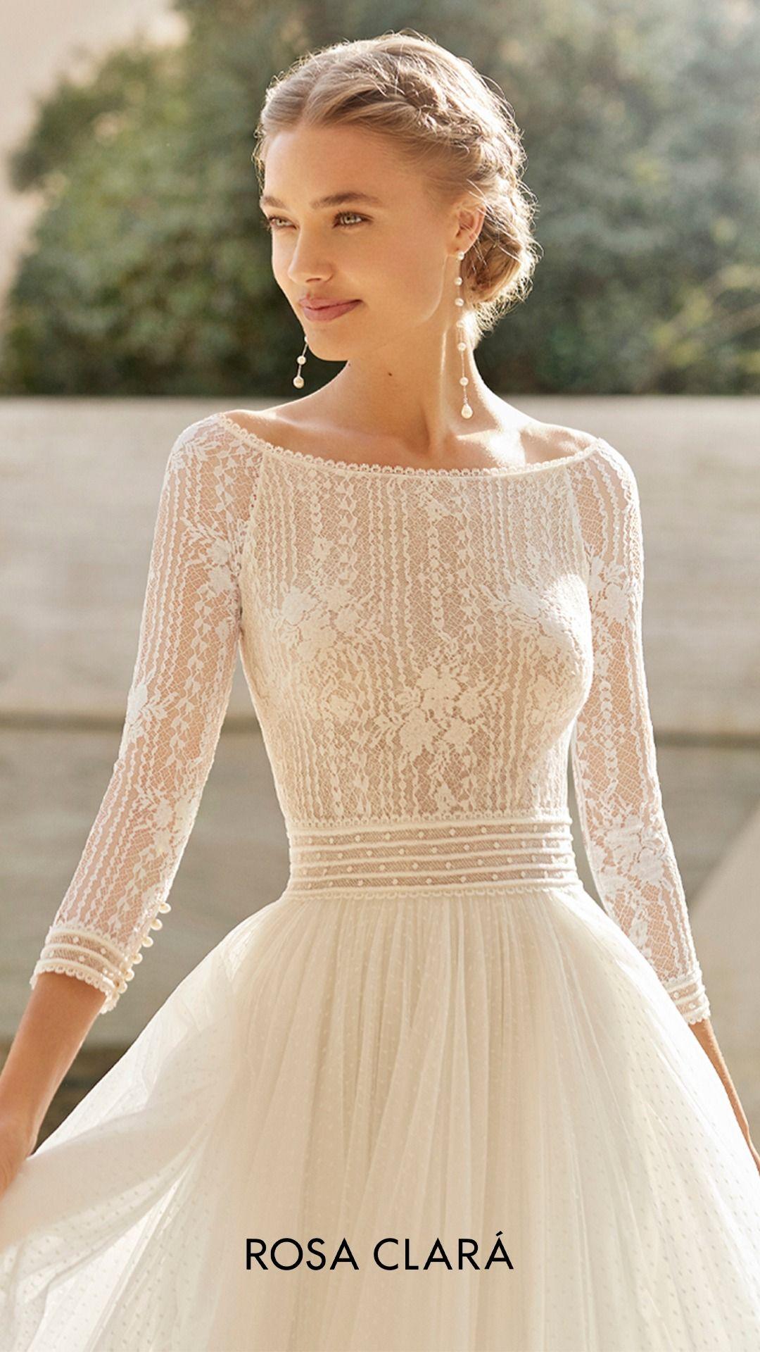 Entdecken Sie die neuen Kollektionen an #Brautkleider. Mit Liebe und Feinfühligkeit entworfene und konfektionierte Brautkleider. #rosaclara #braut #weddingdress #bridal #bridaldresses