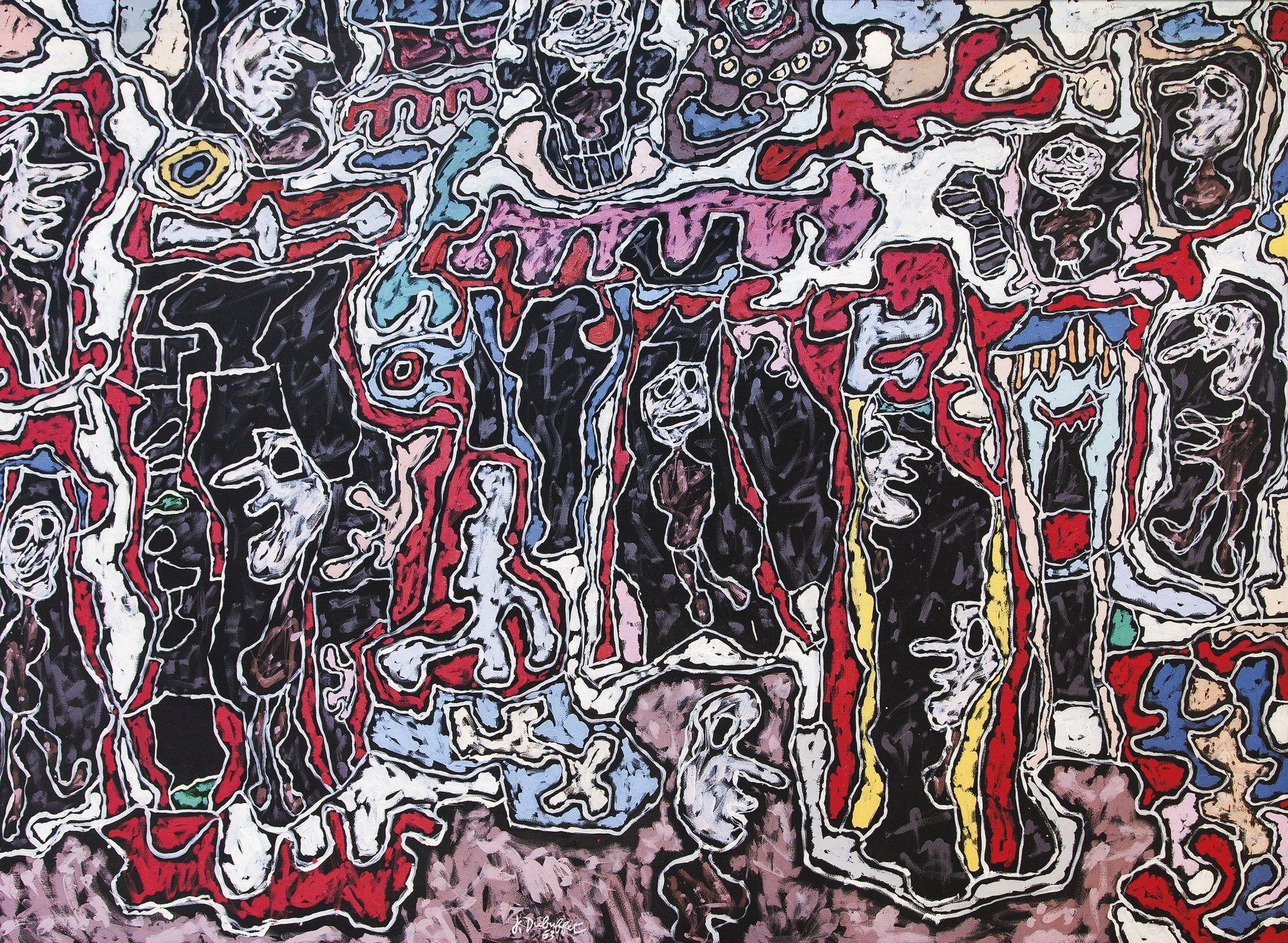Art History News: JEAN DUBUFFET | Art | Pinterest | Art, Art ...