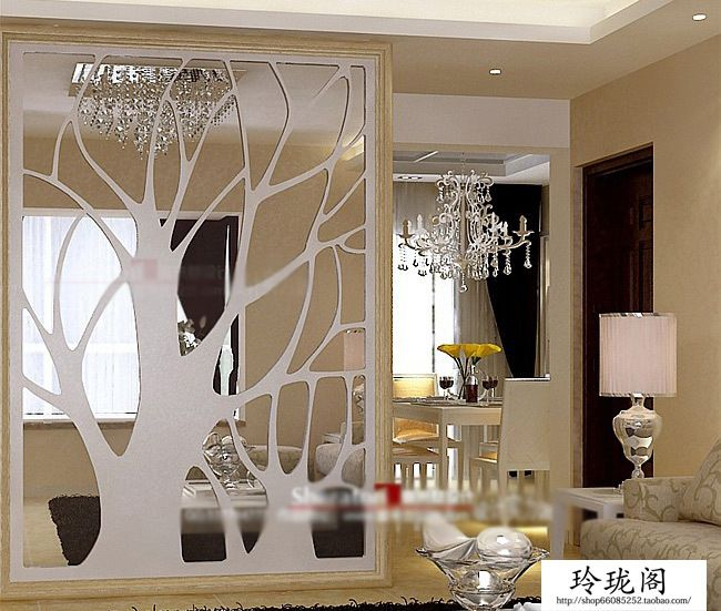Home Hotel Decoration Tree Simple Pierced Engraved